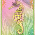 Seahorse Violet by Amy Kirkpatrick