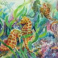 Seahorses Three by Deborah Younglao