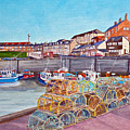 Seahouses IIi by Francis Robson