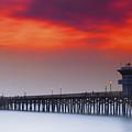 Seal Beach Pier by DRK Studios