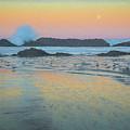 Seal Rock Moonset by Michael Balen