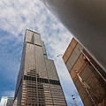 Sears Tower From Across The Street by Sven Brogren