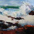 Seascape Aceo  by Susan Jenkins