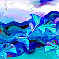 Seascape Adventures by Abstract Angel Artist Stephen K