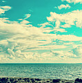 Seascape Cloudscape Instagramlike by Antony McAulay
