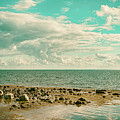 Seascape Cloudscape Retro Effect by Antony McAulay