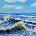 Seascape No.3 by Teresa Wegrzyn