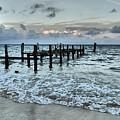 Seascape Puerto Morelos by Pamela Campbell