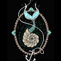 Seashell Mermaid by Lindri Lendiran