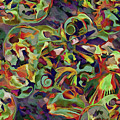 Seashells Abstract 14 by Lynda Lehmann
