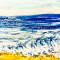 Seashore  by Monique Faella