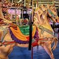 Seaside Carousel Stander by Kristia Adams