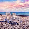 Seaside Chairs by Debra and Dave Vanderlaan