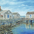 Seaside Cottages by Danielle Perry