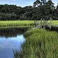 Seaside Creek Fort Lamar Battle Of Secessionville by Dustin K Ryan