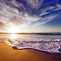 Seaside Sunset by Frank Mackenna