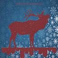 Seasonal Greetings Artwork by OLena Art Brand
