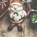 Seasons Greeting Santa by Jorgo Photography - Wall Art Gallery