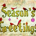 Season's Greetings Card by Chris Lord