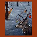 Seasons Greetings With Seduction by Leah Saulnier The Painting Maniac