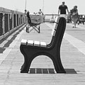 Seat On The Pier by Michelle Powell