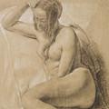 Seated Female Nude by Sir John Everett Millais