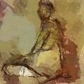 Seated Figure by Dragica Micki Fortuna