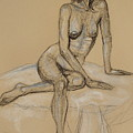 Seated Nude 4 by Donelli  DiMaria