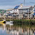 Seaton Harbour - Devon by Susie Peek