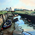 Seaton Sluice Harbour by John Cox
