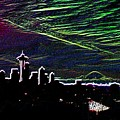Seattle And Da Mountain by Tim Allen