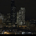 Seattle At Night by Clayton Bruster