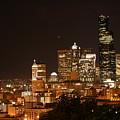 Seattle At Night by Robert Torkomian