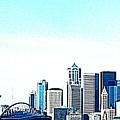 Seattle Blue by Nick Gustafson