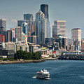 Seattle By Ferry by Antonio Novelli