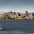 Seattle By Sea by David Harwood