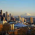 Seattle Cityscape by Greg Vaughn - Printscapes
