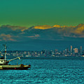 Seattle Evening by Dale Stillman