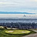 Seattle In The Fog by Terri Tiffany