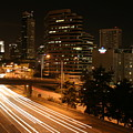 Seattle Night Time by Robert Torkomian