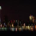 Seattle Nightlights by Jeri Vaughn