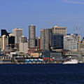 Seattle Panoramic by Adam Romanowicz
