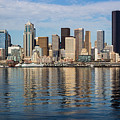 Seattle Reflection by Suzanne Luft