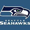 Seattle Seahawks by Mitro Dente