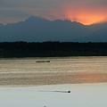 Seattle Shilshole Bay Sunset  by Carol  Eliassen