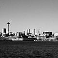 Seattle Skyline #2 by Robert J Caputo