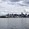 Seattle Skyline by Howard Thompson