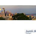 Seattle Skyline by Karen Ulvestad