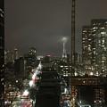 Seattle Skyline by Kat Cortez