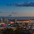 Seattle Skyline Panorama by Jamie Pham